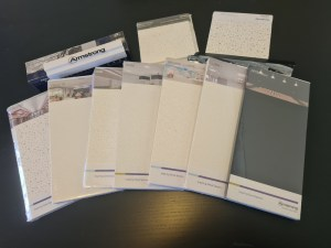 Armstrong Ceiling Tile range