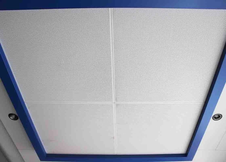Dia 4 0 Powder Coating Metal Ceiling Tiles Durable