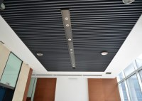 Artist Aluminum Alloy Commercial Ceiling Tiles / Square