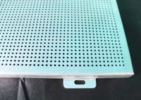 Durable Washable Aluminum Wall Panels , Perforated ...