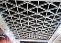 unique Lattice Suspended metal ceiling grid For Office ...