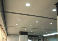 Perforated Acoustic Lay In Ceiling Tiles aluminum , 600mm ...