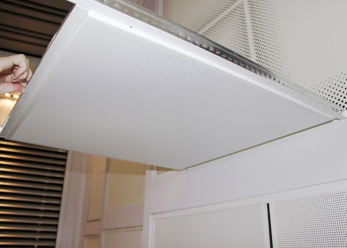 False Suspended Lay In Ceiling Tiles Mount with Tee Bar