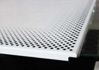 Aluminium Perforated Metal Ceiling panel / Round Hole ...