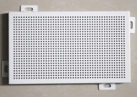 Decorative Perforated Aluminum Wall Panels 300 X 600 with ...
