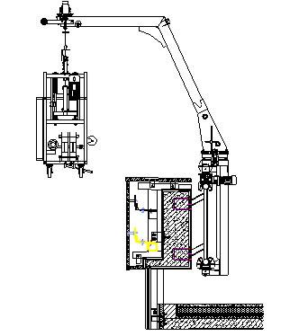 Lifting Type Window Cleaning Machine