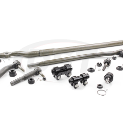 moog packagedeal012 front end steering rebuild package kit  [ 1200 x 900 Pixel ]