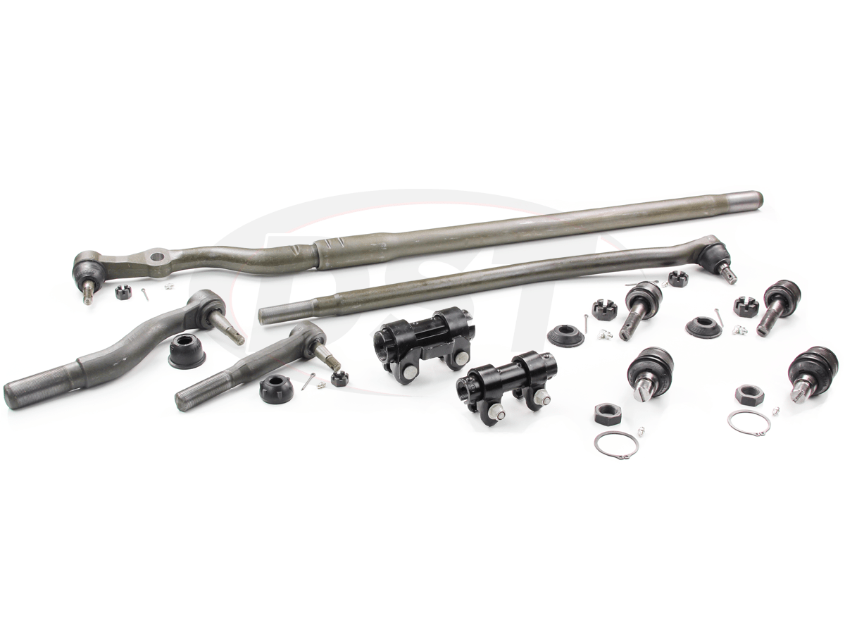 hight resolution of moog packagedeal012 front end steering rebuild package kit