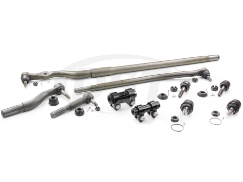 small resolution of moog packagedeal012 front end steering rebuild package kit