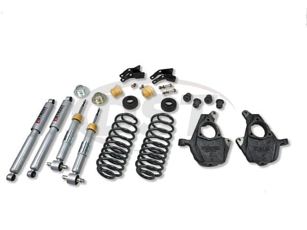 Belltech belltech-753sp Lowering Kit 2 inch Front and
