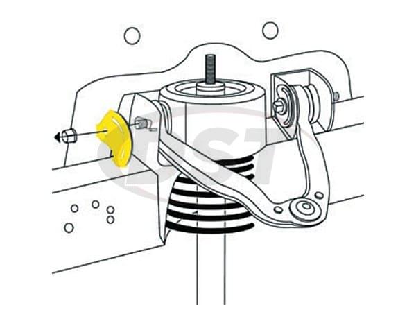 Front Alignment Camber Kit. MOOG moog-k80277