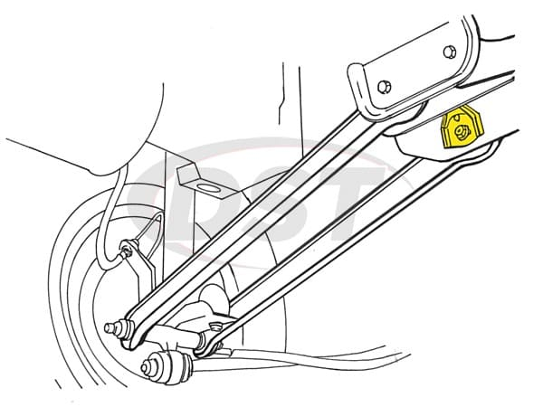 1992 Mercury Sable Rear Suspension Diagram