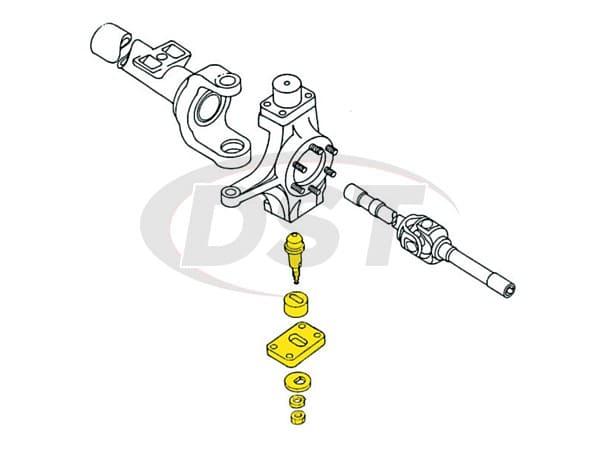 Front Lower King Pin Camber Adjustment Kit. MOOG moog-k992