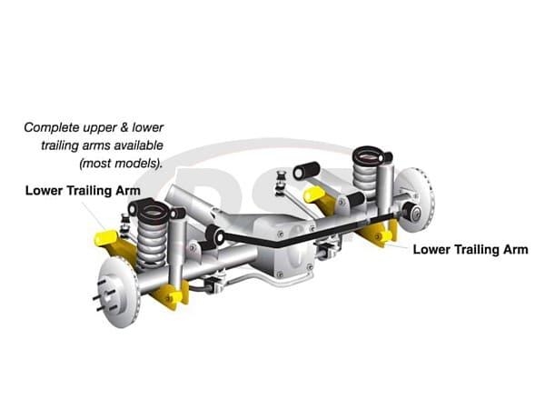 Rear Lower Control Arm Assembly. Whiteline kta154