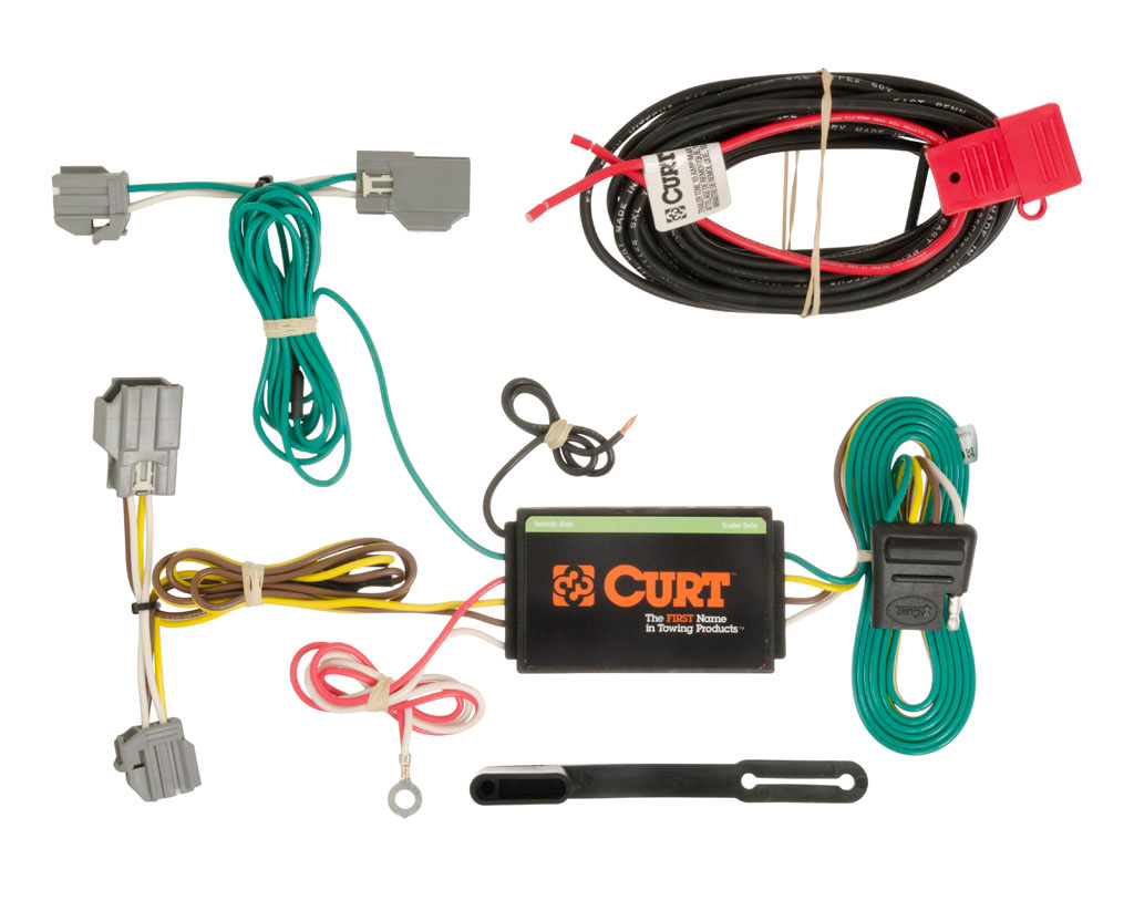 hight resolution of 2014 2018 chevy impala curt mfg trailer wiring kit 56188