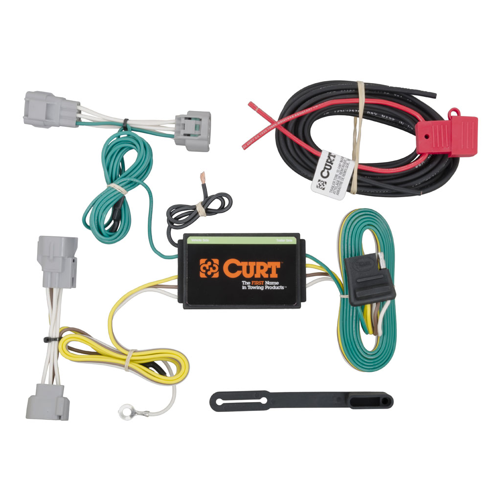 hight resolution of jeep cherokee 2014 2018 wiring kit harness curt mfg 56208 vehicle wiring tow behind rv 2014