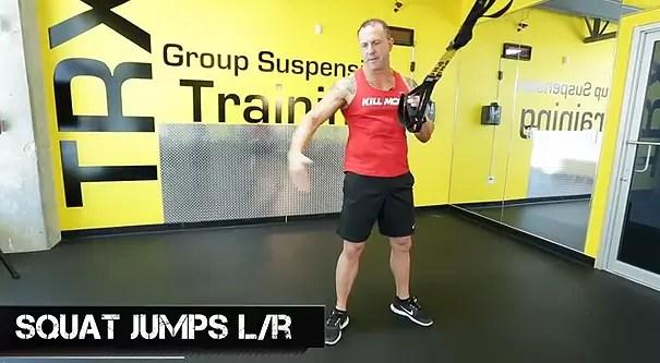trx leg exercises jump squats