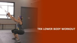TRX 15 minute lower body workouts with Basheerah