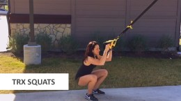 How to do a TRX squat
