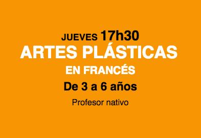 taller de Artes plásticas en francés