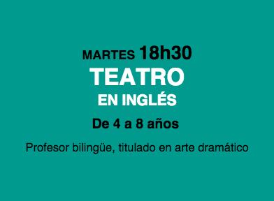 taller de Teatro en inglés