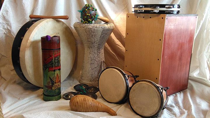 Instrumentos de percusión - Taller de música para y con, las niñas y niños de tres a cinco años