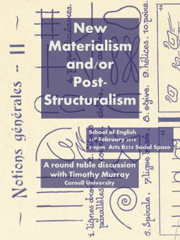 post structuralism thesis An essay on late structuralism concert to slow the industrialization of the third world in the immediate post-war structuralism de-emphasized human agency.