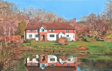 A Piinting of Great Saucelands, Ardingly by Glen Smith