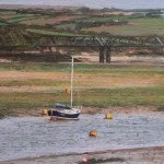 Charity postcard donated by Glen Smith entitled 'Turning Tide, River Camel'