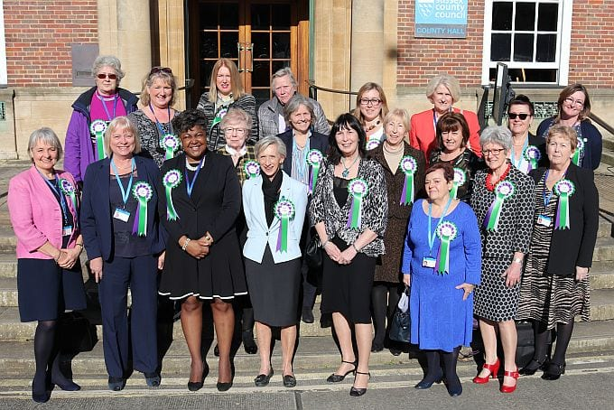 Female county councillors