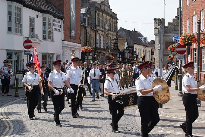 Horsham's Armed Forces Sunday