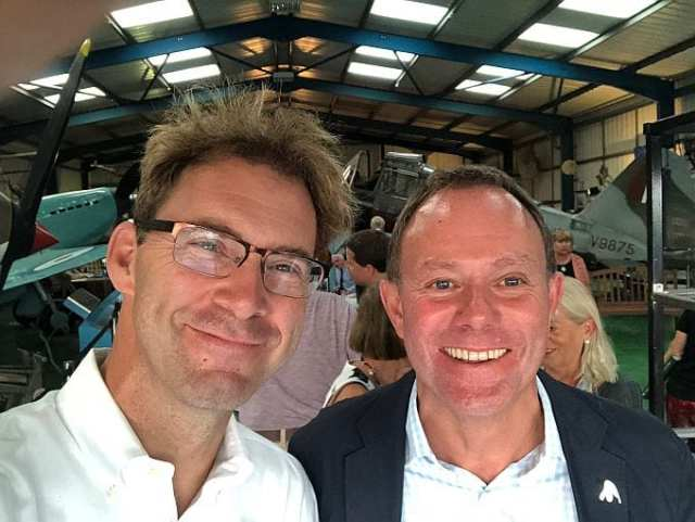 Tobias Ellwood with Nick Herbert
