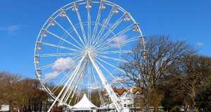 The Worthing Wheel in its former position in Steyne Gardens