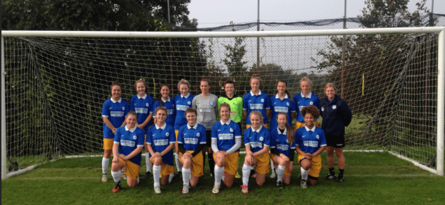 Under 16 Girls Team Photo vs Kent