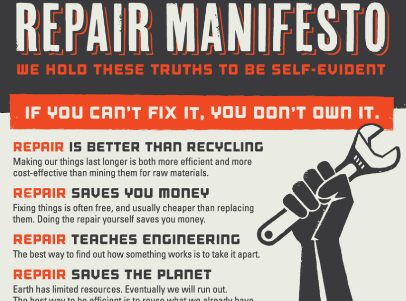 self repair manifesto ifixit internet explorer 162017 103655 am
