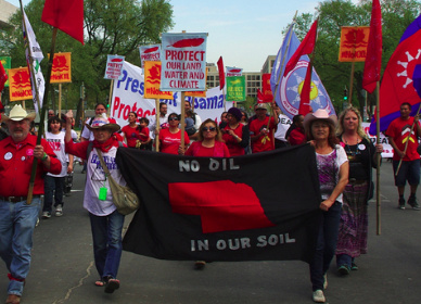 MARCH TO GIVE KEYSTONE XL THE BOOT