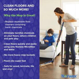 why use the norwex mop
