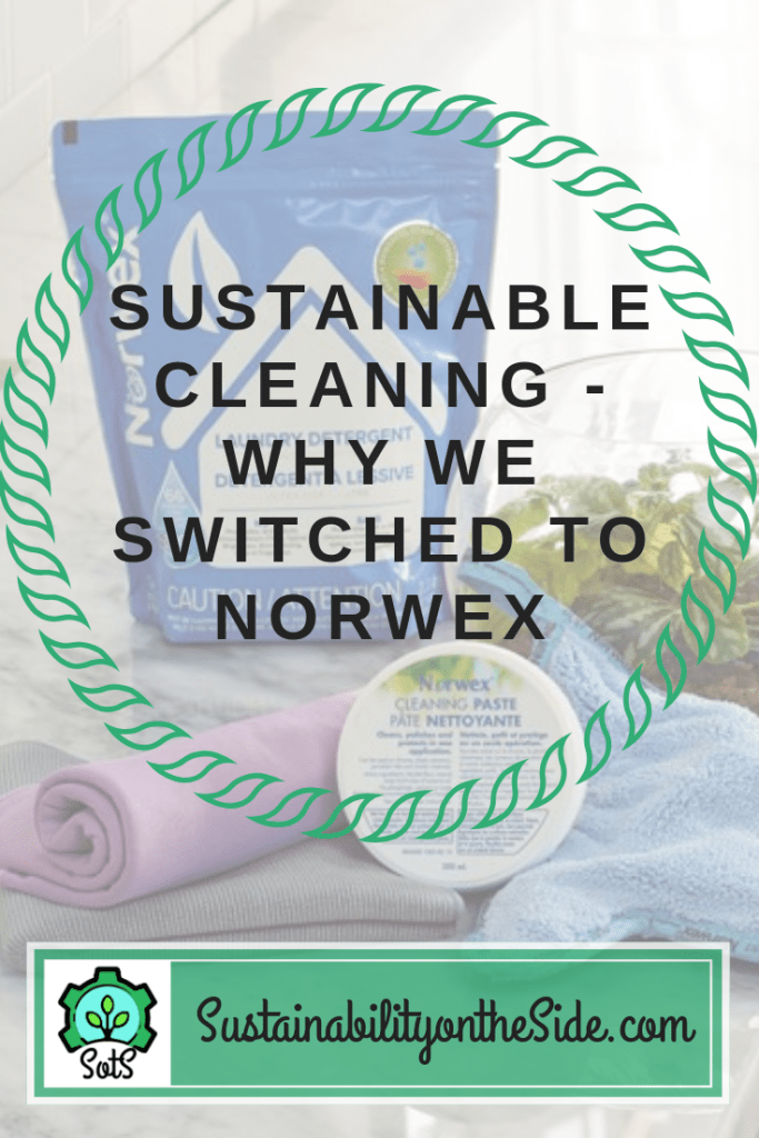 sustainable cleaning - why we switched to Norwex