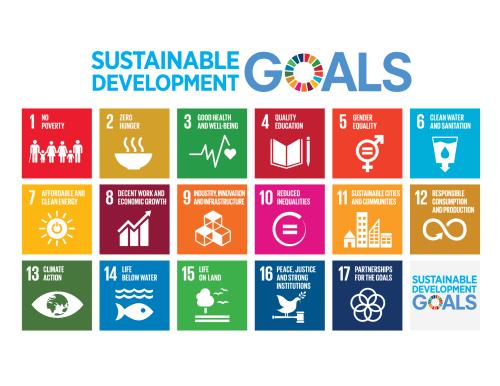 United Nations Sustainable Development Goals 1-17