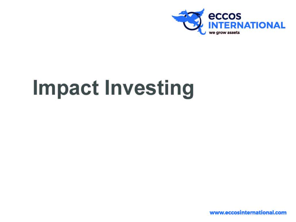 Eccos International Impact Investing