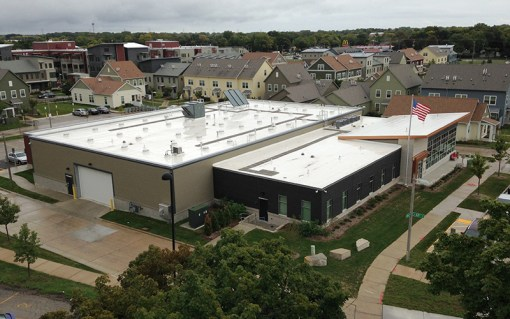 Westlawn Management and Maintenance Building