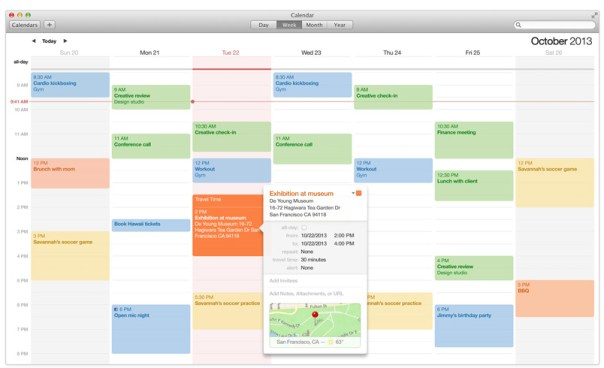 Productivity with Apple Calendar