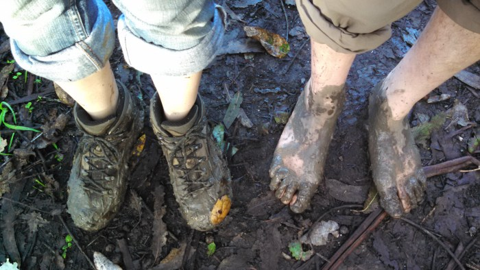 Trail Feet, Booted & Bare