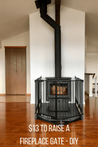Fireplace Gate - Raising a Baby Gate For Fireplace Safety