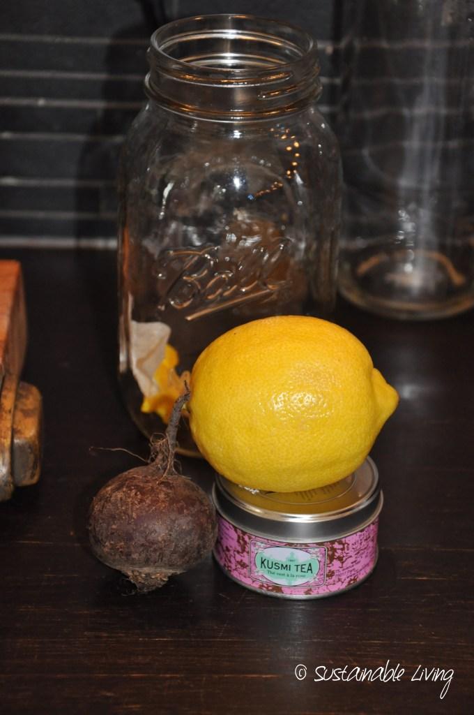 rödbeta citron
