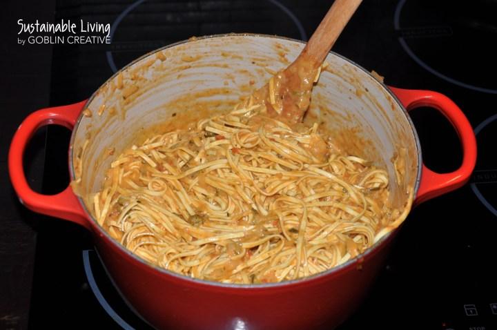 One pot pasta 4