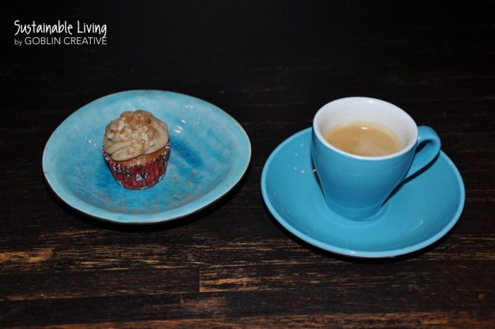 Pumpa cupcakes och espresso