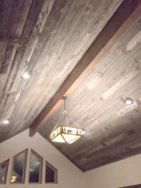 Reclaimed Wood Ceiling Planks - Ceiling Design Ideas