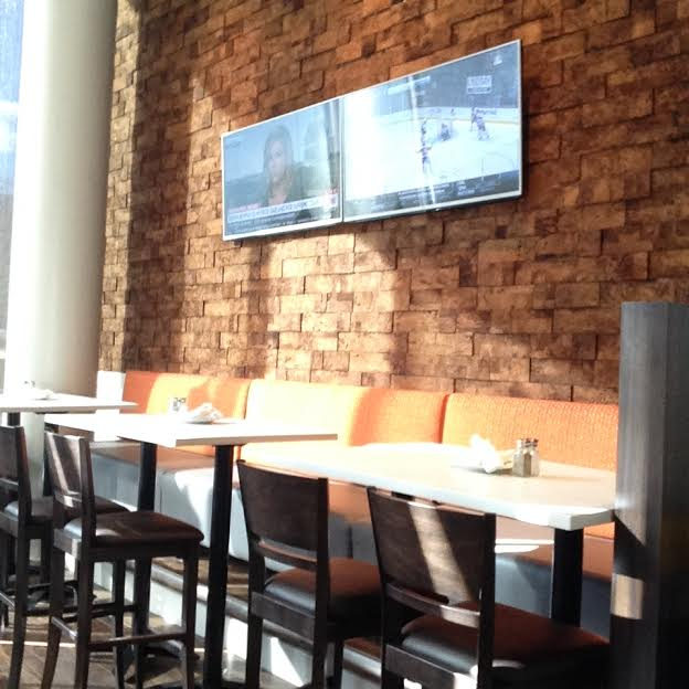 3D Cork Bricks - Brown - Restaurant