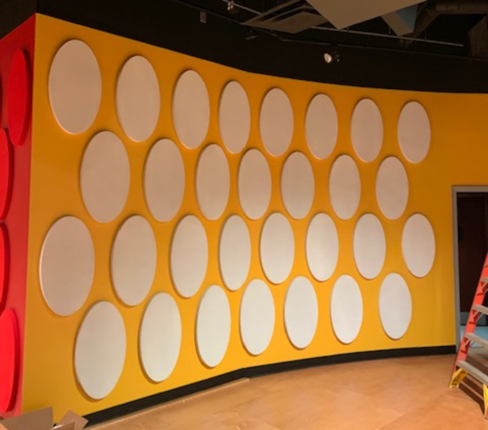decor-flat-panel-custom circle wall